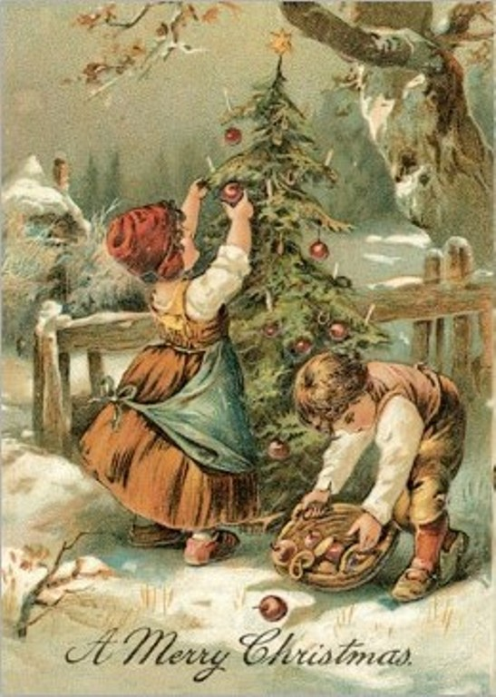 Animated Christmas Angels